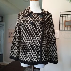 Miss Guided Chunky Knit Sweater Jacket •Size Large